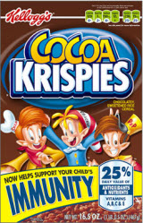 Kellogg Hints That Cocoa Krispies Will Save Your Kids From Swine Flu