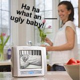 Baby Too Boring? Watch The Neighbor's Baby With This Monitor