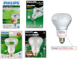 Philips Recalls 1.86 Million Potentially Plummeting Compact Fluorescent Flood Lamps