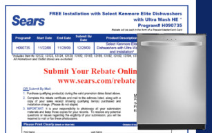 Why Is Sears Being So Sneaky On This Dishwasher Rebate?