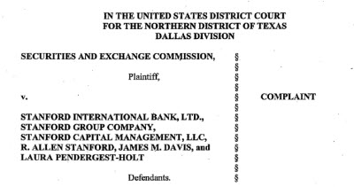 SEC Charges Texas Businessman With $8 Billion Fraud