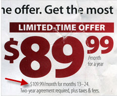 FiOS: Lock In A $20 Per Month Price Increase With A Two Year Contract! Huh?