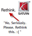 Sad Email From Saturn Reassuring You That GM Will Still Make Parts For Your Car