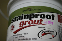 Trafficmaster Stainproof Grout Readers You Sir Are No