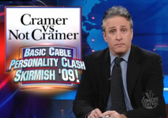 Jon Stewart And Jim Cramer %#%@# Hate Each Other
