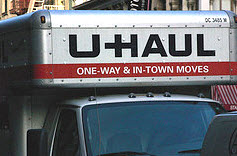 Thieves Steal U-Haul Truck, Drive It Into A Best Buy