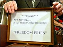 Freedom Fries Refrogified On House of Representatives Menu