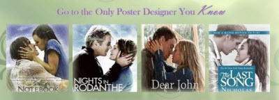 Studios Officially Out Of Ideas For Nicholas Sparks' Movie Posters