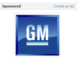 GM Says Facebook Ads Don't Work