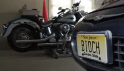 "New Jersey Says Your ""BIOCH"" License Plate Is Not Allowed"