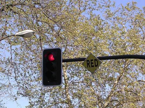 Yellow Light At The Intersection Of Zipcar And Local Government