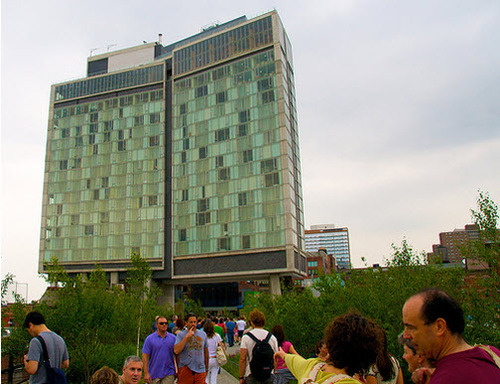 Hotel With Glass Windows Overlooking A Park Markets Itself To Exhibitionists