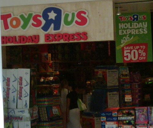 August? Pretty Much Christmastime, Declares Toys R Us