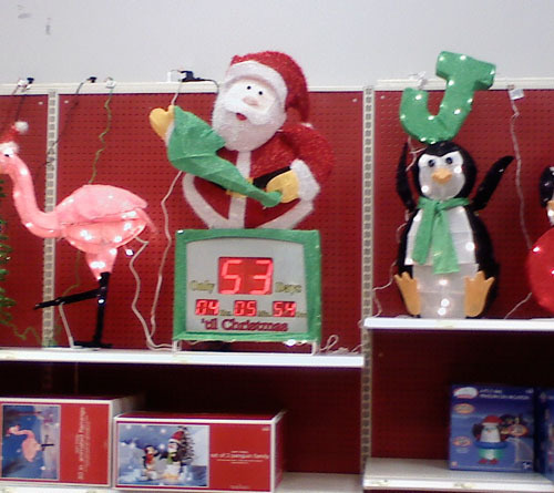Arizona Target Store Really, Really Can't Wait For Christmas