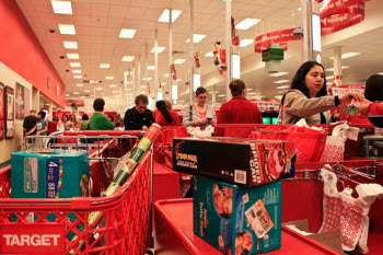 Current And Former Walmart CEOs Shop At Target