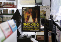 Big Tobacco Sues NYC, Claims Anti-Smoking Posters Are Unconstitutional