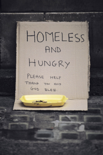 Who Gives Money to the Homeless?