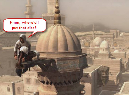 Sony And The Mystery Of The Missing Assassin's Creed Disc