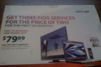 Verizon Should Really Stop Marketing FiOS To People Who Can't Sign Up For It