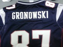 Sorry Rob Gronkowski, The NFL Shop Can't Spell Your Name