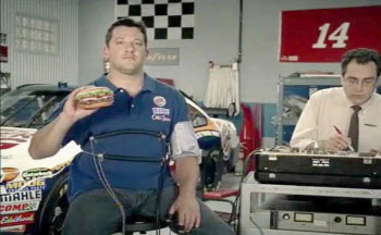 Is It Really So Hard To Believe That Tony Stewart Likes Whoppers?