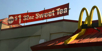 Customer Claims McDonald's Gave Her Mucus-Filled Iced Tea