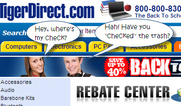 Florida AG Sues TigerDirect For 'Continually Blaming Customers' For Rebate Delays