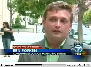 Ben Popken On WJLA Warning About Robocall Scammers