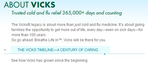 Vicks Accidentally Says It's Been Around For 1,000 Years