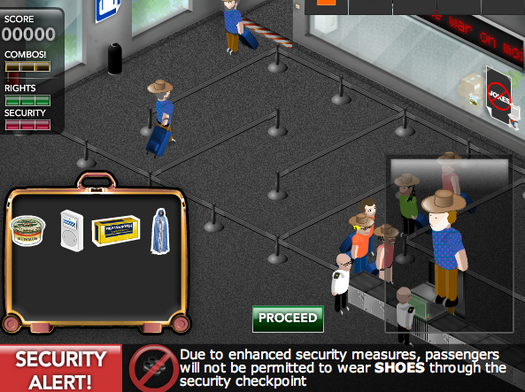 Airport Security: The Game!