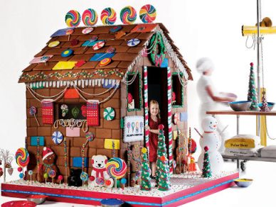 What Every Child Needs For Christmas: A $15,000 Gingerbread House