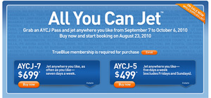 JetBlue 'All You Can Jet' Passes Are Sold Out, But You Still Might Be Able To Win One