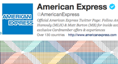 American Express Syncs Credit Cards With Twitter, Hopes You'll Help Them Shill