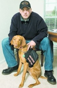 Dillard's Boots Disabled Iraq War Vet And His Service Dog, Too