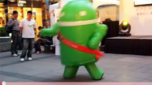 Android On Crack Dance Sets Hearts Aflame