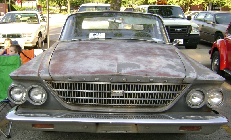 State Farm: This 1963 Chrysler Newport Is Not An Antique, Unless You Give It A Fresh Coat Of Paint. What?