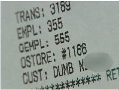 Customer Finds Racial Slur On Receipt After Returning Some Shoes