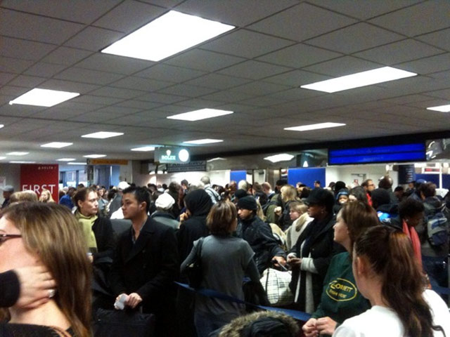 JFK Delta Terminal A Living Hellhole, Cops Called To Quell Crowds