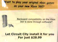 UPDATE: Circuit City Ripping Off Xbox 360 Customers