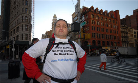 Man To Run NYC Marathon Carrying Textbooks To Protest High Cost Of College Texts