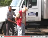 Lowe's Driver Caught With Hand In The Hooker Jar
