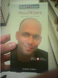 Great Moments in Shopping: Bald Guyz Head Wipes