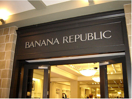 "Banana Republic: ""You Need To Create A New User Name Every 3-4 Months"""