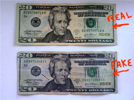 Hey, Bank of America! Your ATM Gave Me A Fake $20 – Consumerist