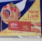 Barilla Redesigns Pasta Package To Let Consumers Know That Pasta Package Is About To Be Redesigned