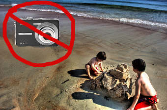 Kodak: Your Camera Has A Beach Mode, So Don't Take It To The Beach