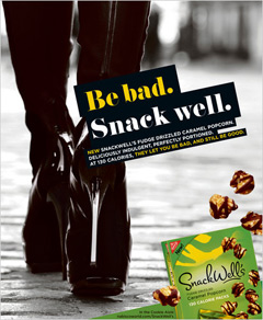 SnackWell's Ups Snack Pack Calorie Count From 100 To 150