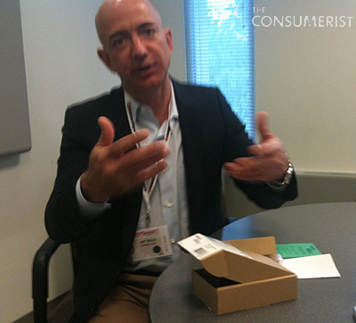Consumerist Exclusive Interview: Amazon CEO Jeff Bezos