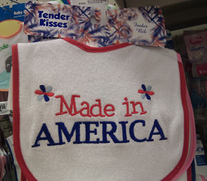 'Made In America' Bib Is Cute, But Made In China