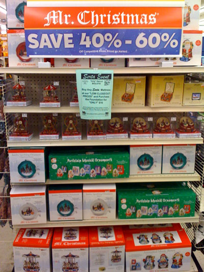 Christmas Clearance Creep At Big Lots